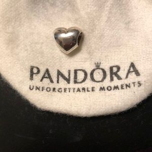 Authentic Pandora Heart Charm